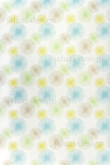 Ткань для рулонных штор В225 Салют ментол