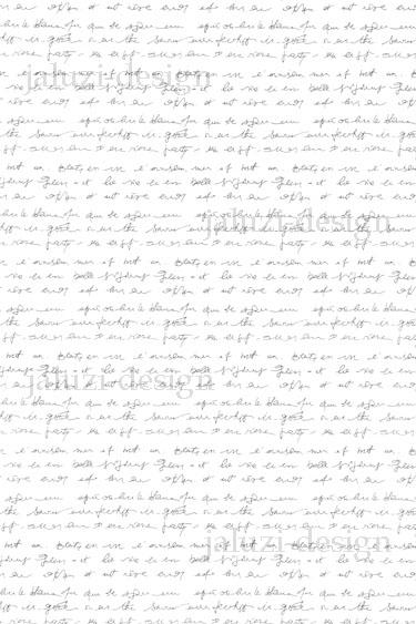 Ткань для рулонных штор В235 Письмо серебро