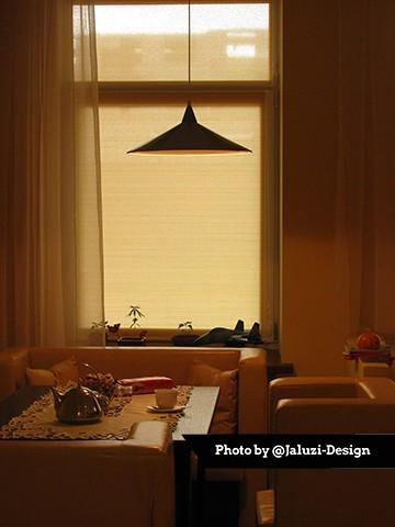 Рулонные шторы с тканью Морокко на кухне