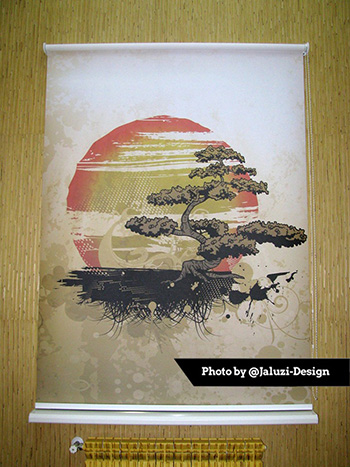 Картина в японском стиле