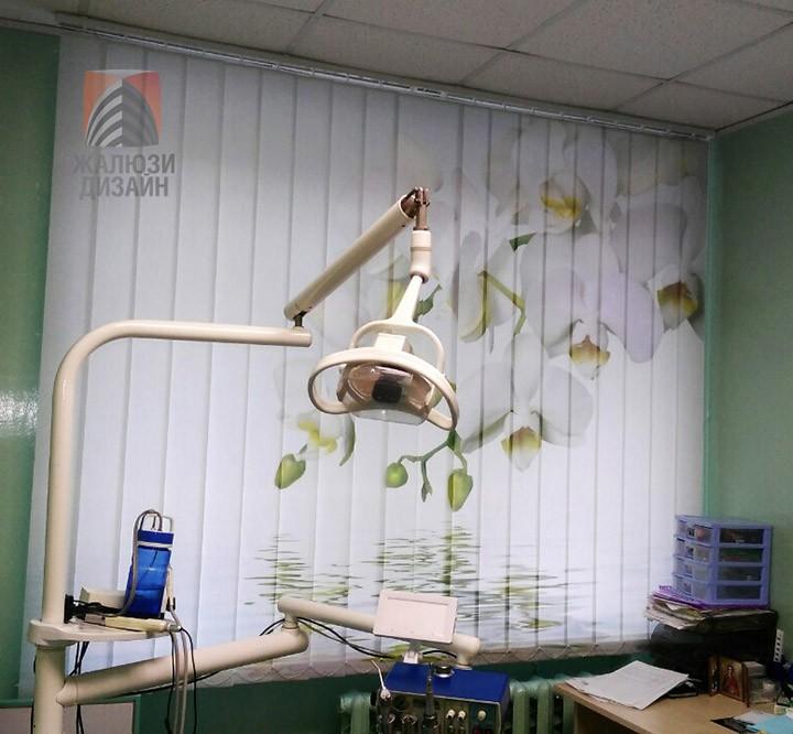 Орхидея в стоматологическом кабинете