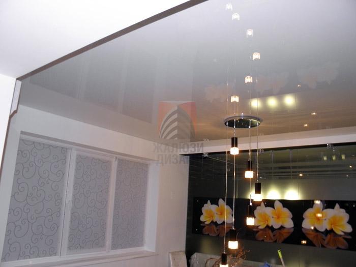 Рулонные шторы из немецкой ткани Вуаль в интерьере