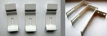 Потолочные и стеновые крепления для вертикальных жалюзи