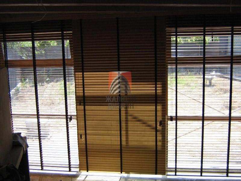 Компания Жалюзи-Дизайн установила деревянные жалюзи в Доме Джека