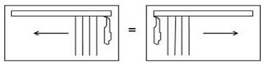 Раздвижка Т1 - вертикальные жалюзи закрываются от управления