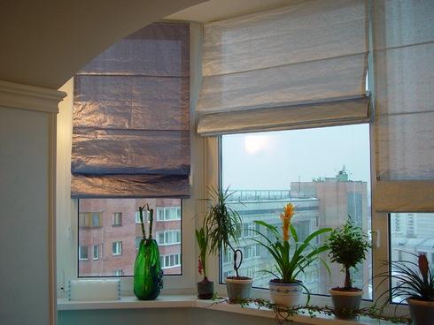 Римские шторы на балкон купить