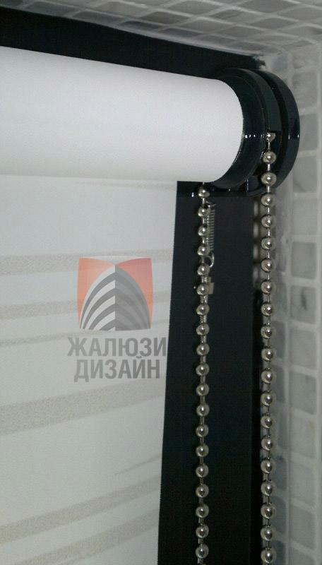 Нержавеющая цепочка на рулонной шторе
