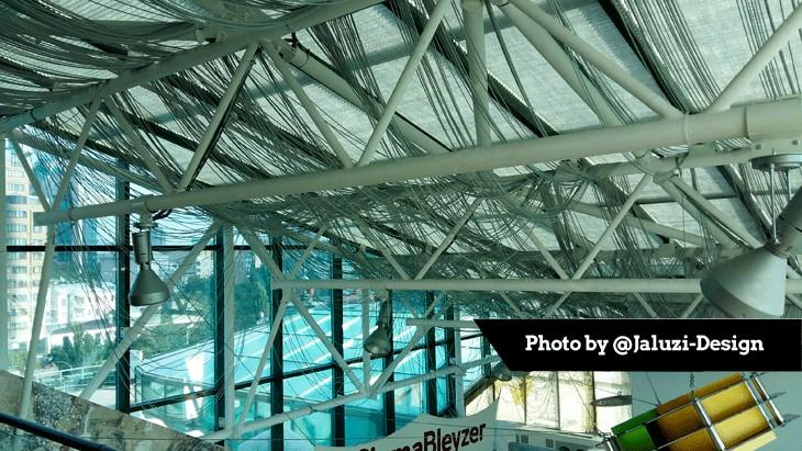 Шторы-плиссе для потолочных окон