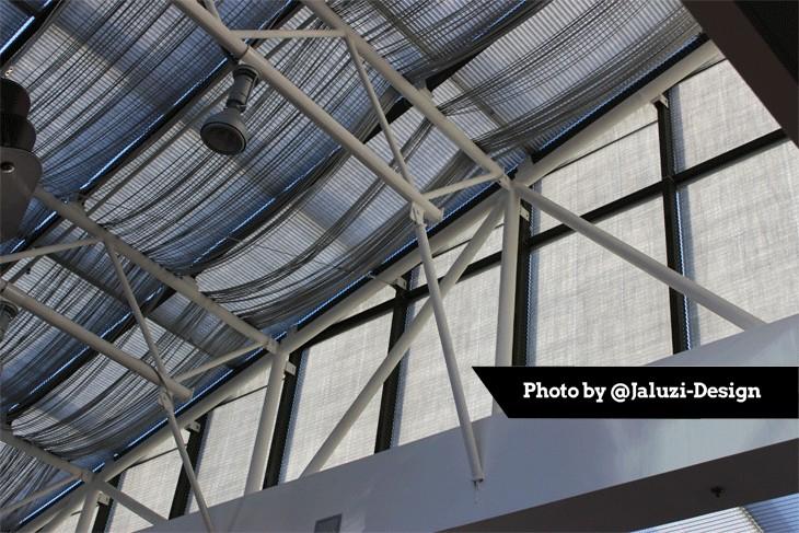 Шторы-плиссе для потолочных окон с тканью Луксор