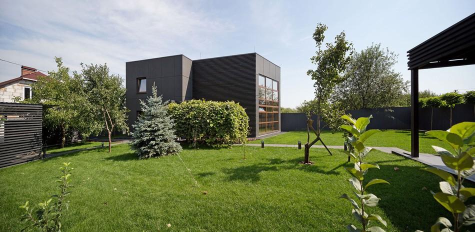 Дом Джека, спроектированный архитектором Сергеем Махно