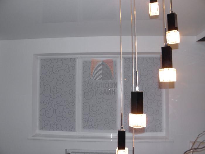 Рулонные шторы открытого типа с тканью Вуаль