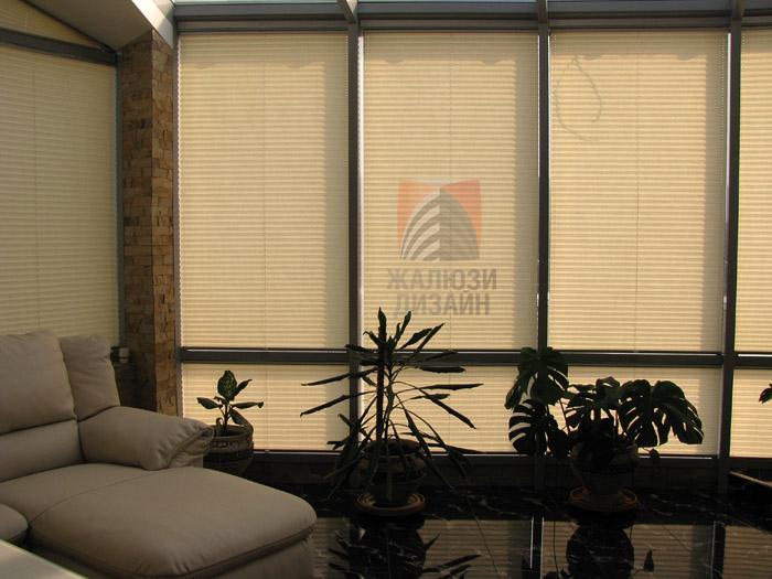 Стильные шторы-плиссе от компании Жалюзи-Дизайн