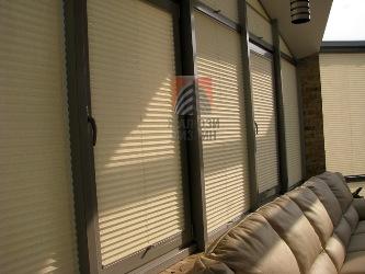 Система штор-плісе Cosiflor в ЖК Паркове місто